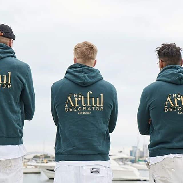 New logo photoshoot on polo shirts and hoodies